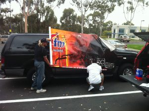 Vehicle wraps and Signage